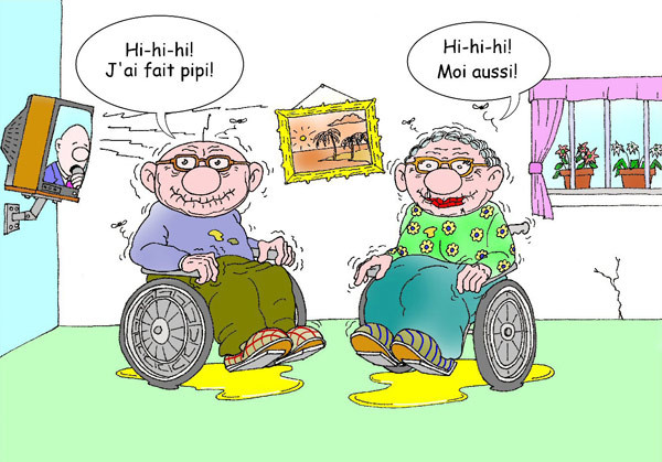 Papy et mamie - Humour 029397b4
