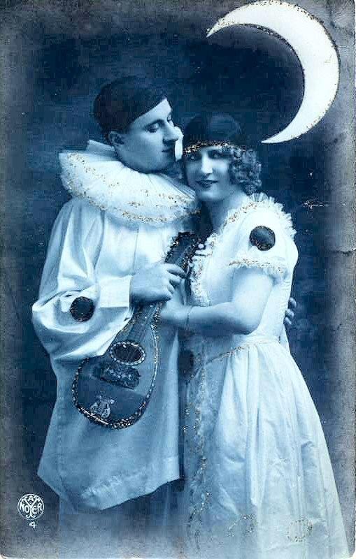 Carte ancienne ( couple)