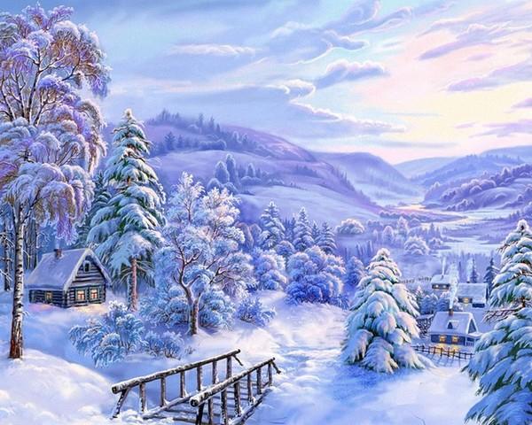 paysages hiver page 10. Black Bedroom Furniture Sets. Home Design Ideas