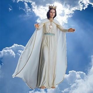 Images pieuses(La Vierge Marie)