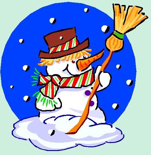 Poesies de noel - Bonhomme de neige en pompon ...