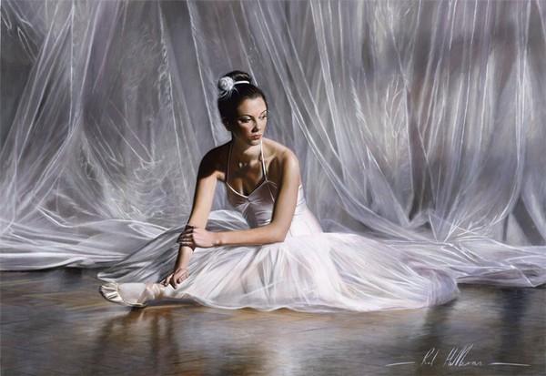 Danseuses en peintures