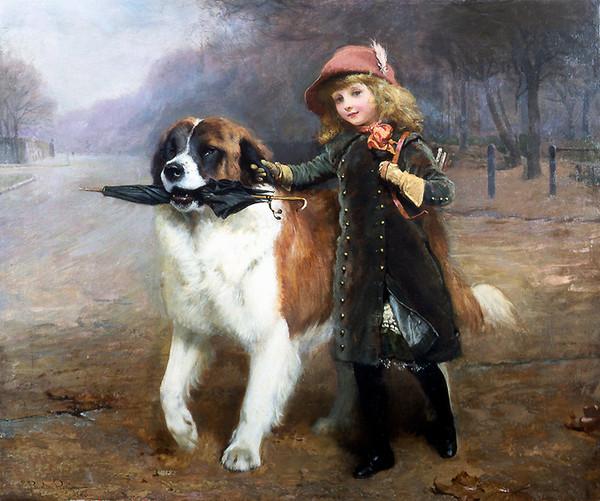 Charles burton barber peintre de l 39 aristocratie mariamgaroum for Artiste peintre anglais