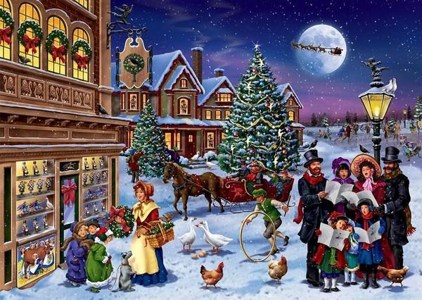 Les images de Noël (Paysages et illustrations féeriques) 1e9c04bc