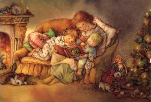 Нарисованные картинки счастливая семья с детьми 4
