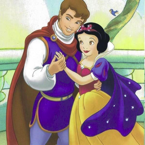 Prince et princesse disney - Blanche neige et son prince ...