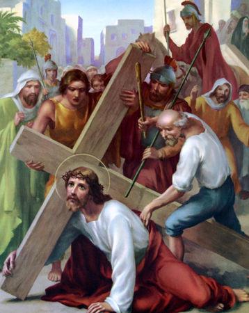 Images pieuses ( Le chemin de Croix)