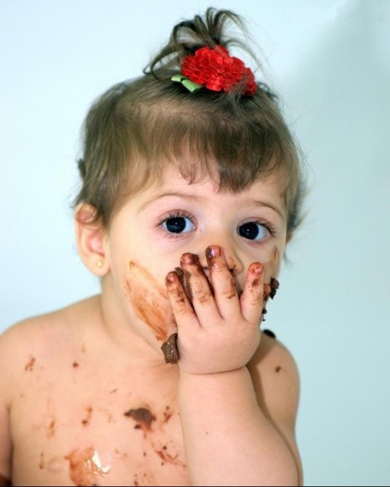 enfant chocolat