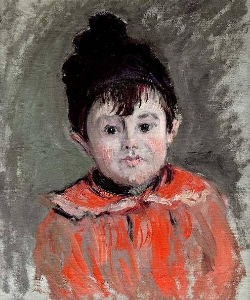 CLAUDE MONET (1840-1926) , Portrait de Jeanne Serveau