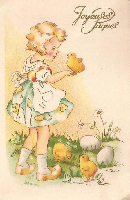 Cartes anciennes de paques page 17 - Carte joyeuses paques ...