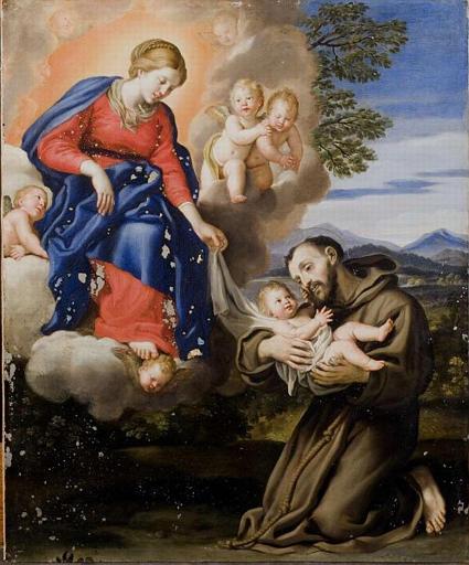 Images pieuses( Saint Antoine de Padoue)