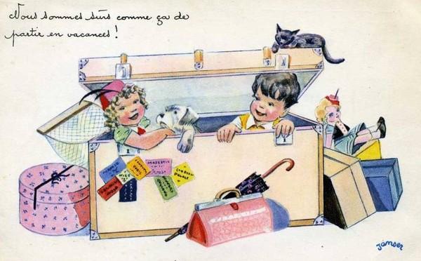 Carte enfant - Humour de Janser