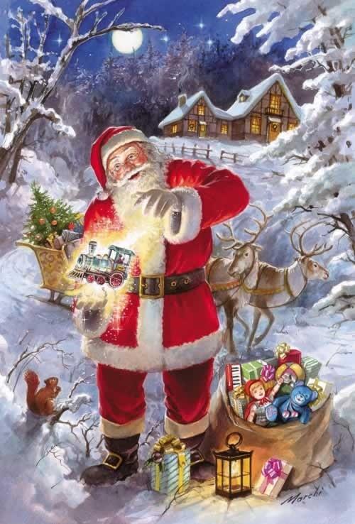 Les images de Noël (Paysages et illustrations féeriques) 503634dc
