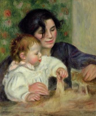 Peintre célèbre - Pierre Auguste Renoir
