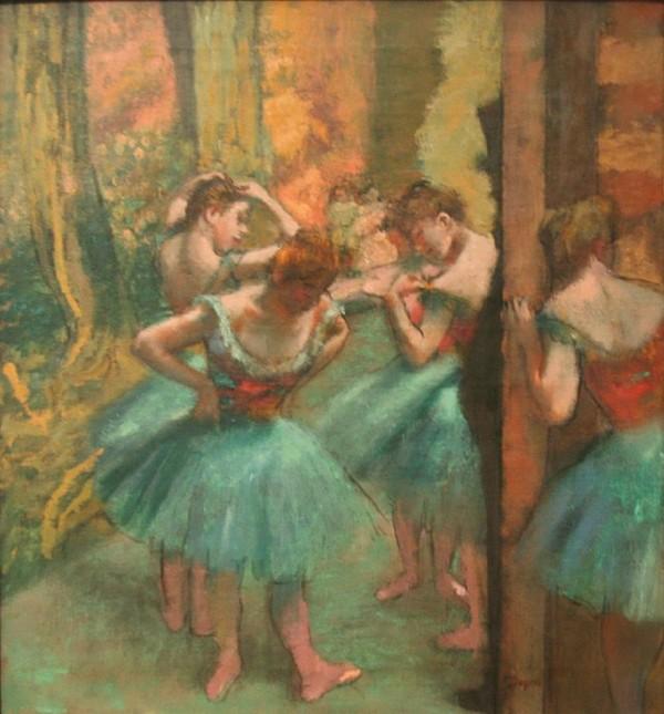 Danseuses en peintures page 19 - Peinture les danseuses ...