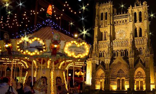 """Amiens """"La cathédrale en couleurs"""""""
