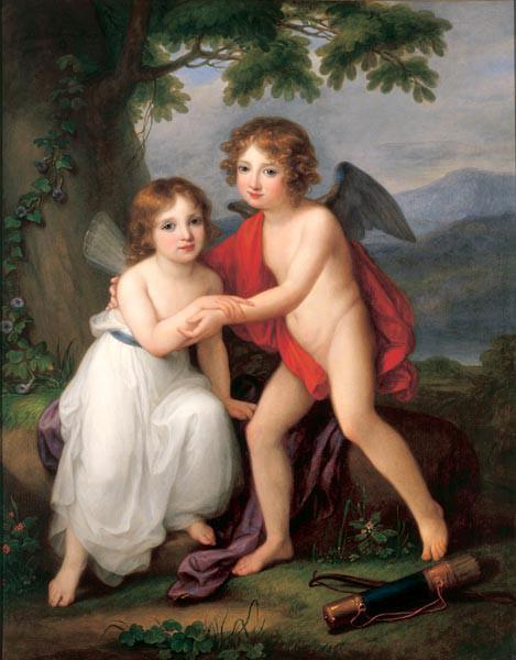 Peinture d' Angelica Kauffmann