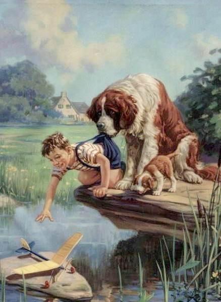 Image - L'enfant et les chiens