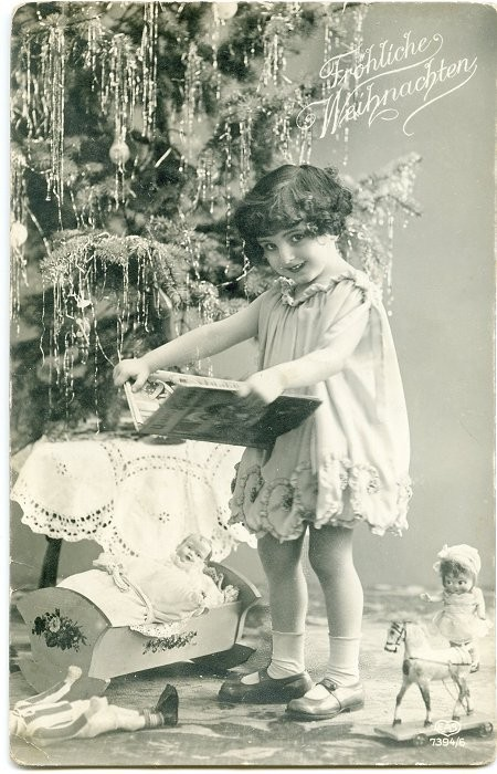 Cartes anciennes de Noël