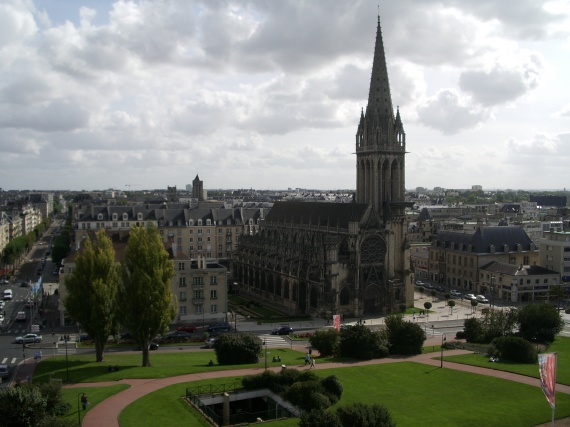 Mes vacances a Caen