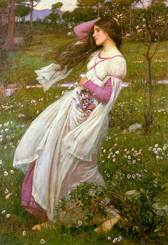 Peintre célèbre- John William- Waterhouse