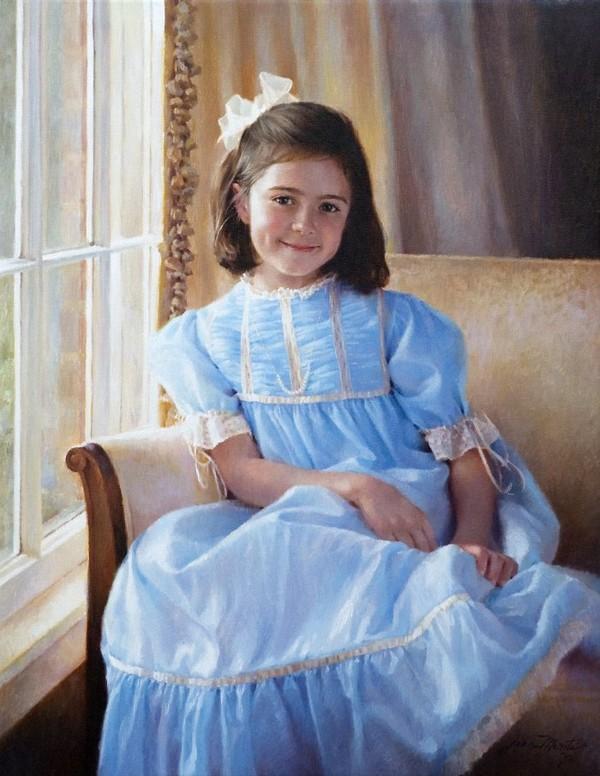 Peintre Jean Monti (Portrait)