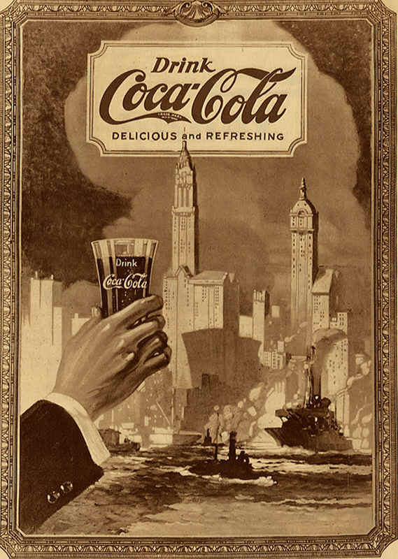 affiches anciennes eau soda coca cola page 5. Black Bedroom Furniture Sets. Home Design Ideas