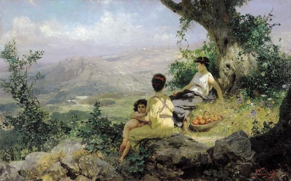 Peinture de Henryk Siemiradzki
