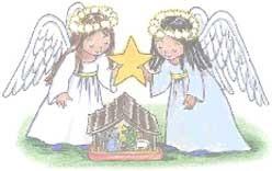 Poésie de Noël-Ange bleu, ange blanc