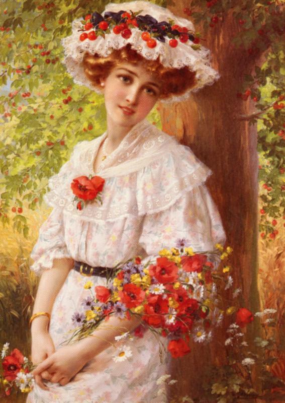 Peintre célèbre-Émile Vernon