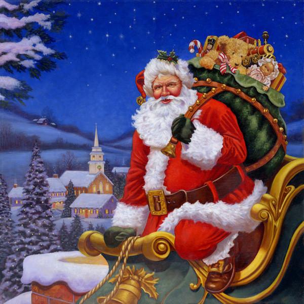 Magie du pére Noël