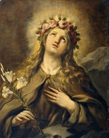 Images pieuses ( Sainte Rosalie )