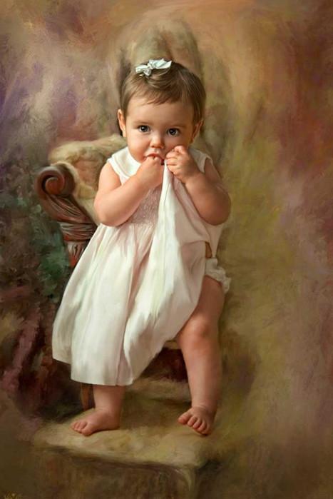 """Résultat de recherche d'images pour """"enfants en peinture"""""""