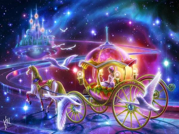 Les images de Noël (Paysages et illustrations féeriques) Ab525341