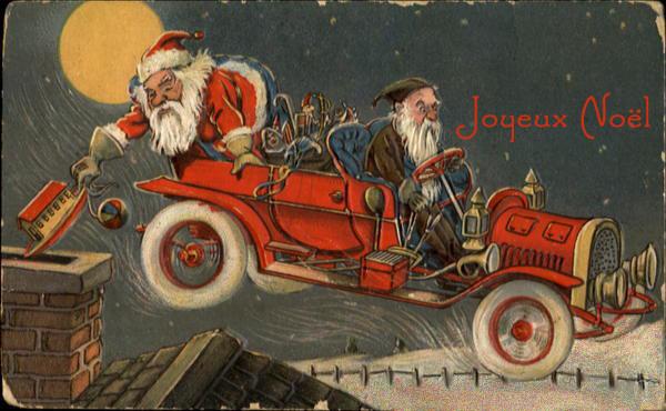 Cartes anciennes  de Noel