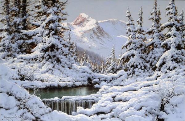 Les images de Noël (Paysages et illustrations féeriques) B88f3ca6