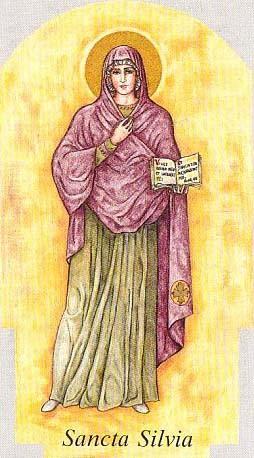 Images pieuses( Sainte Sylvie)