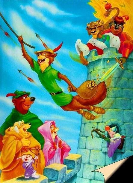 Walt disney  Robin des bois  Centerblog ~ Walt Disney Robin Des Bois