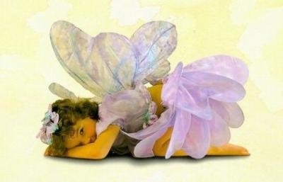 Sweet Fairies Images, Free Printable Invitations, Labels or Cards.