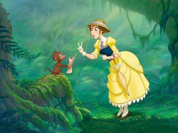 B Monkey Film walt disney tarzan - P...