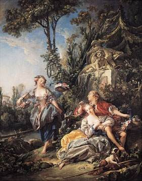 Peintre celebre francois boucher for Boucher peintre