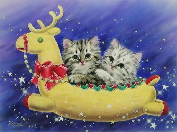 Animaux de Noël