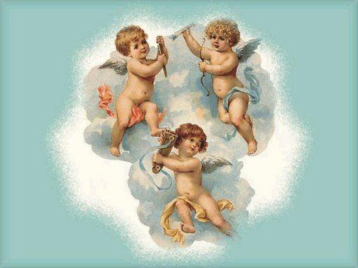 Anges chérubins