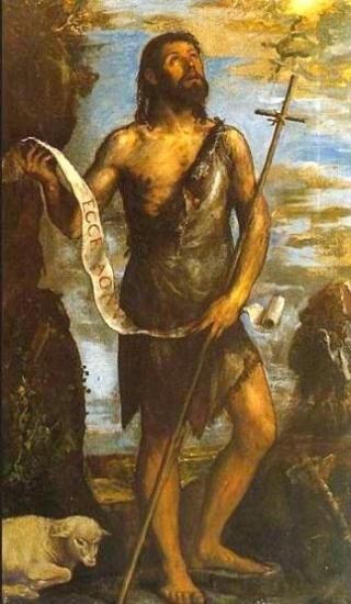 Images pieuses (Saint Jean-Baptiste )