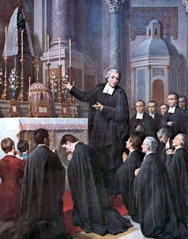 images pieuses jean baptiste de la salle