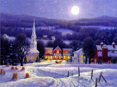 Poésie-La nuit de Noël