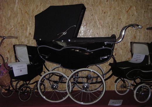 landau ancien pour bébé