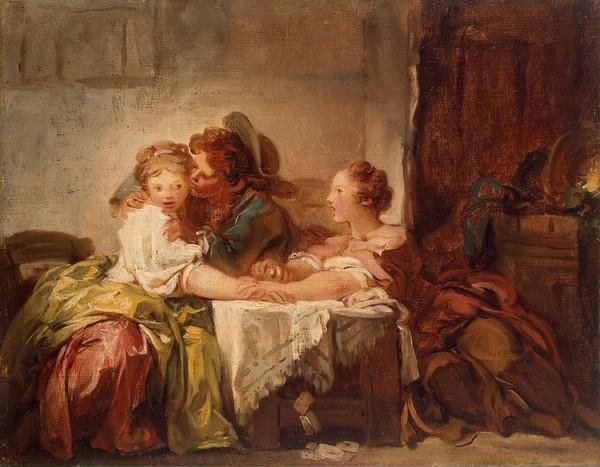Peintre Celebre Jean Honore Fragonard