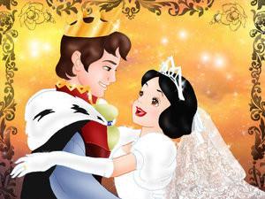 Princes et princesses disney page 2 - Blanche neige et son prince ...