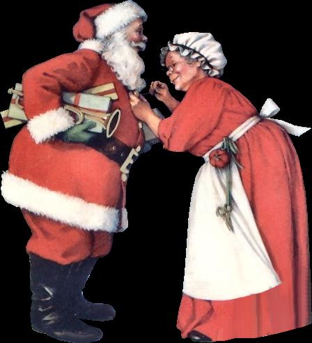 Pére et  Mére Noël